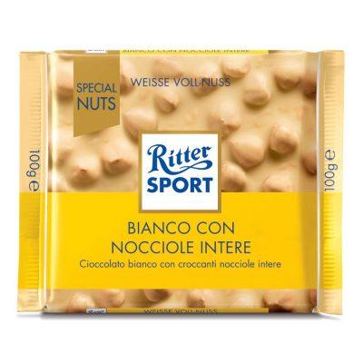 """Ritter """"Special Nuts"""" Bianco con Nocciole Intere"""
