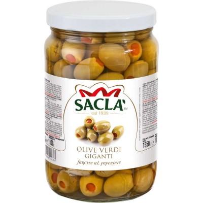 Saclà Olive Verdi Giganti farcite al Peperone