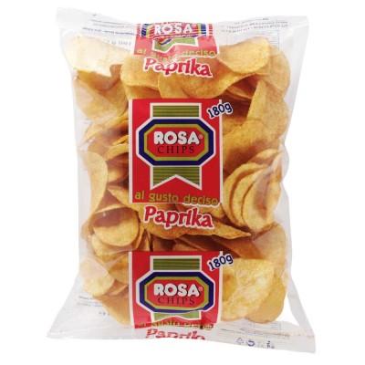 Formato Famiglia – Rosa Chips Patatina Classica al Gusto Paprika
