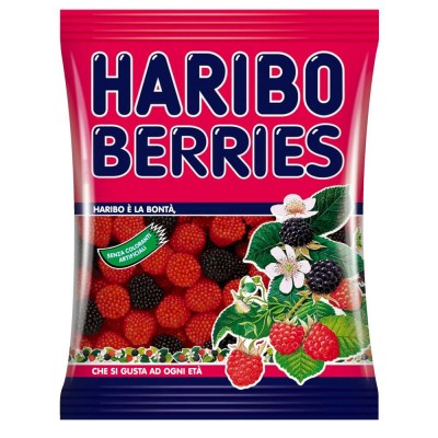 Haribo Busta Berries (More e Lamponi)