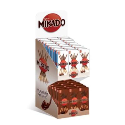 Mikado Espositore al Latte & Fondente