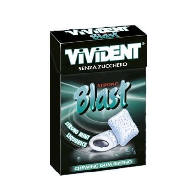 Vivident Blast Strong Mint Liquorice