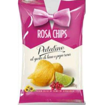 Formato Famiglia – Rosa Chips Patatina Pepe Rosa & Lime
