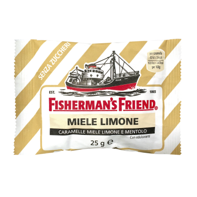 Fisherman's Friend Miele & Limone