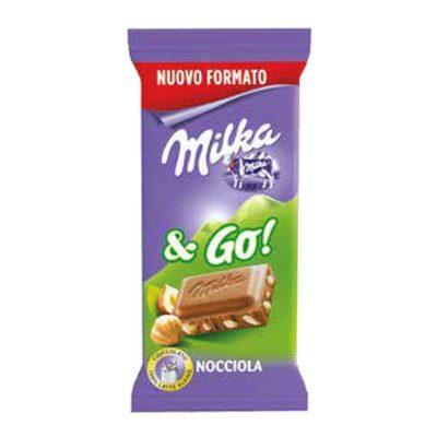 Milka & Go! 45g. con Nocciole
