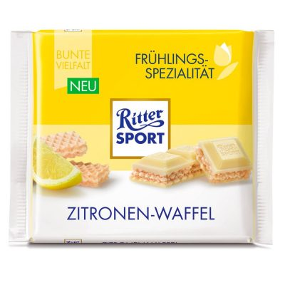 """Ritter """"Spring Variety"""" Bianco Wafer al Limone"""