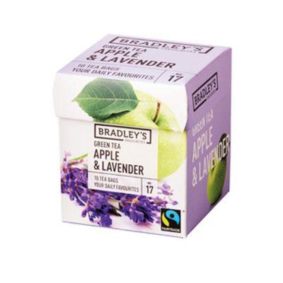 Bradley's Tè Verde Mela e Lavanda
