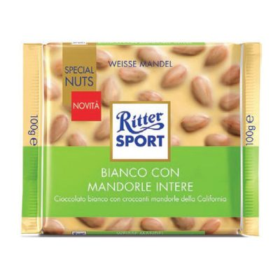 "Ritter ""Special Nuts"" Bianco con Mandorle Intere"